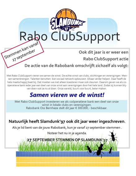 Flyer ClubSupport 2019